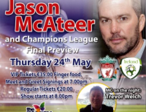 A Night With Jason McAteer In Aid of The Mercy Hospital Fundraising