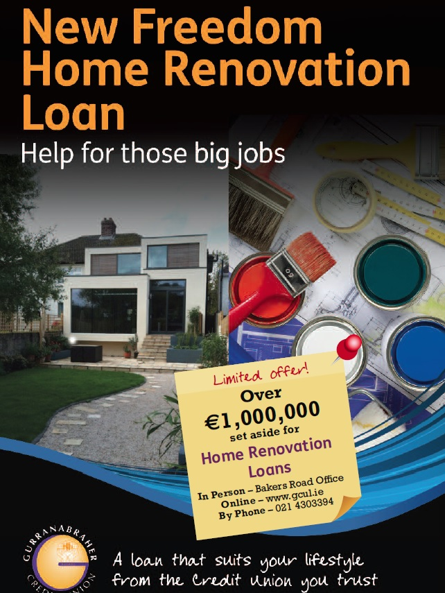 Freedome Home Renovation Loan Gurranabraher Credit Union
