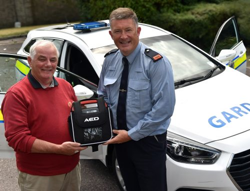 An Garda Síochana & Credit Union come together to save lives